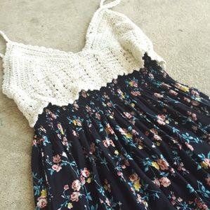 Julia top knit summer dress